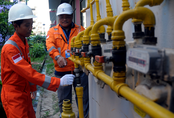 Ilustrasi jaringan gas bumi   Foto : Istimewa
