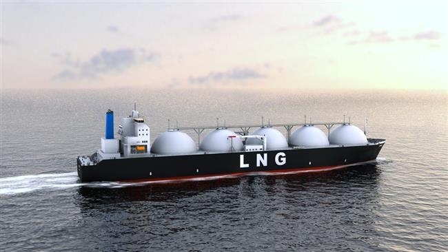Ilustrasi kapal LNG. | Foto: Istimewa.