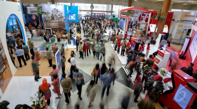 Suasana pameran IPA. (Foto: Liputan6.com)