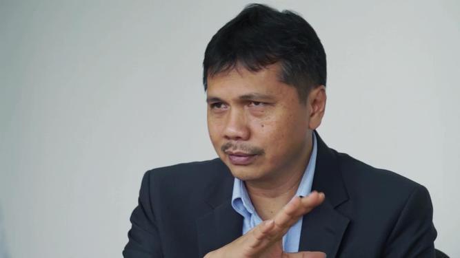 Presiden Direktur PT Badak NGL Salis Aprilian. (Foto: Bisnis.com)