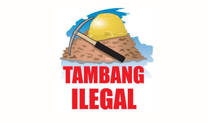 Ilustrasi tambang ilegal. (Foto: Istimewa)