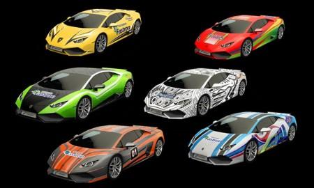 Ilustrasi Lamborghini Livery Contest.