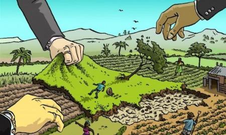 Ilustrasi perebutan tanah dan energi | Istimewa