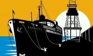 Ilustrasi kapal. | Foto : Istimewa.
