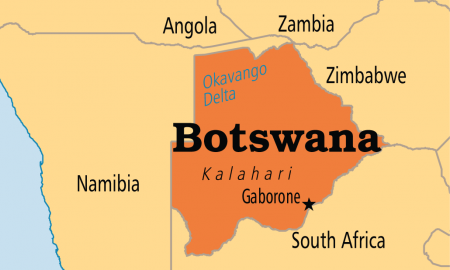 Botswana map | Photos : Special
