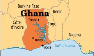Ghana map | Photos : Wikipedia