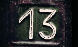 Ilustrasi angka 13   Foto : Istimewa