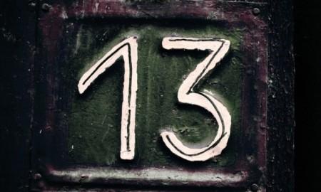 Ilustrasi angka 13 | Foto : Istimewa