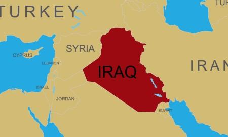 Iraq map.