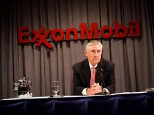 CEO Exxon Mobil Corp Rex Tillerson