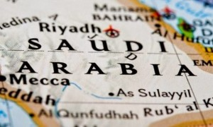 Peta Arab Saudi | Foto : Istimewa
