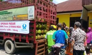 Operasi pasar LPG.   Foto : Istimewa.
