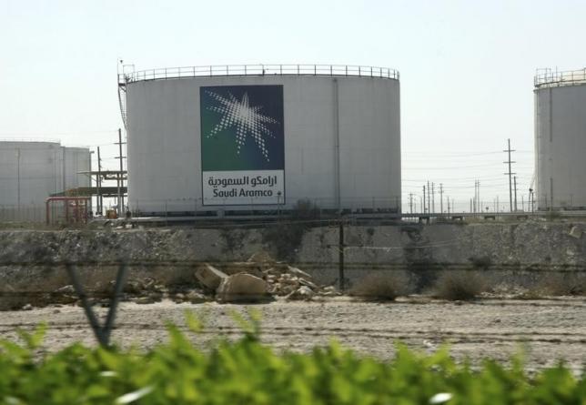 Saudi Aramco oil tank   Photos : Reuters