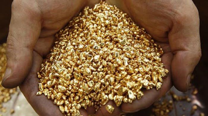 Ilustrasi butiran emas | Istimewa